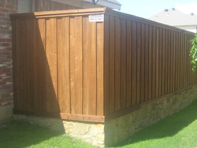 Wood Fence Company Dallas Fort Worth